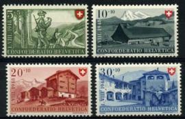 Zwitserland, michel 508/11,xx