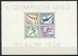 Duitse Rijk, michel blok 5 , xx