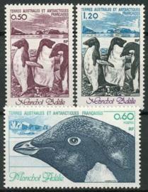 Antarctica Fr., michel 149/51, xx