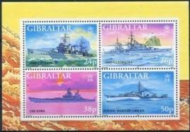 Gibraltar , michel blok 29 , xx