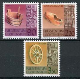 Liechtenstein, michel 1180/82, xx