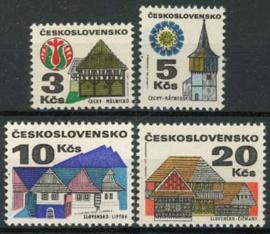 Tsjechoslowakije, michel 2080/83 x, xx