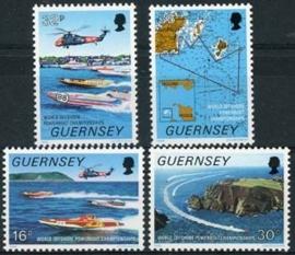 Guernsey, michel 426/29, xx