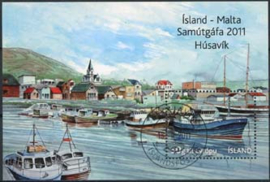 IJsland, michel blok 54, o