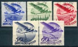 Sovjet Unie, michel 462/66 Z, o