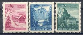 Joegoslavie, michel 655/57, xx