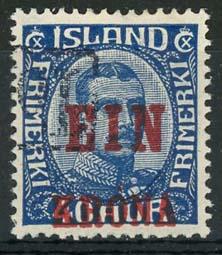 IJsland, michel 121, o