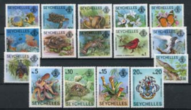 Seychelles, michel 394/409, xx