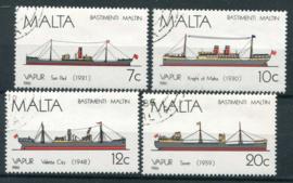 Malta, michel 758/61, o