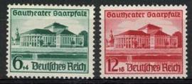 Duitse Rijk, michel 673/74, xx