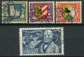 Zwitserland, michel 241/44, o