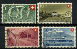 Zwitserland, michel 480/83,o