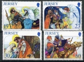 Jersey, michel 760/63, xx