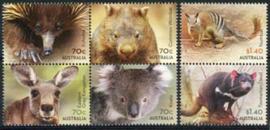 Australie, michel 4234/39 ,xx