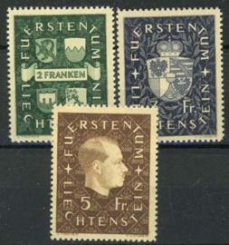 Liechtenstein, michel 183/85, x