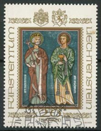 Liechtenstein, michel 734, o
