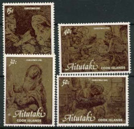 Aitutaki, michel 428/31, xx
