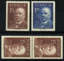 Zweden, michel 453/54,xx
