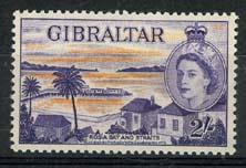 Gibraltar, michel 144, x