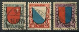 Zwitserland, michel 153/55, o