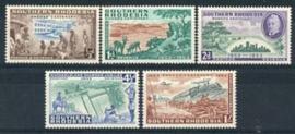 S.Rhodesie, michel 73/77, xx
