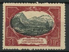 Liechtenstein, michel 60, x