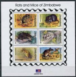 Zimbabwe, michel blok 25, xx