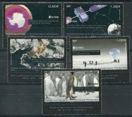 Antarctica Fr., michel 782/86, xx