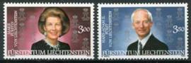 Liechtenstein, michel 1292/93, xx
