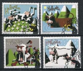 Zwitserland, michel 1973/76, o