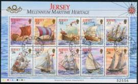 Jersey, michel kb 928/37, o