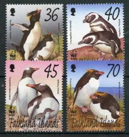 Falkland, michel 855/58, xx