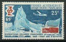 Antarctica Fr., michel 50, xx