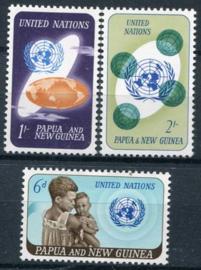Papua N.Guinea, michel 80/82, xx