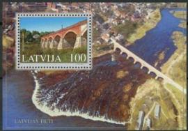 Letland, michel blok 16, xx
