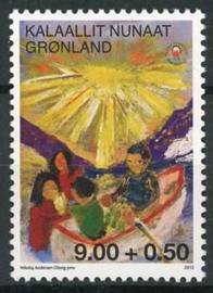 Groenland, michel 629, xx