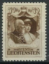 Liechtenstein, michel 93, x