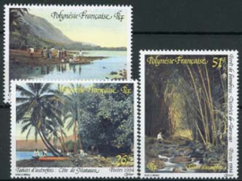 Polynesie, michel 659/61, xx
