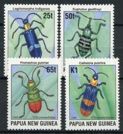 Papua N.Guinea, michel 772/75, xx