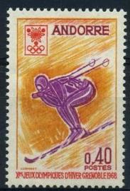 Andorra Fr., michel 207, xx