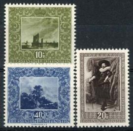 Liechtenstein, michel 301/03, xx