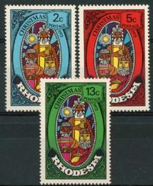 Rhodesie, michel 123/25, xx