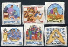 Botswana, michel 543/48, xx