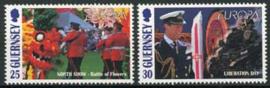 Guernsey, michel 783/84, xx