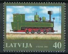 Letland, michel 543, xx