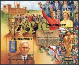 Guernsey, michel blok 21, xx