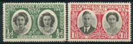 S.Rhodesie, michel 64/65, xx
