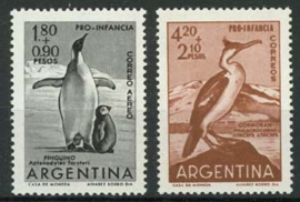 Argentinie, michel 760/61, xx