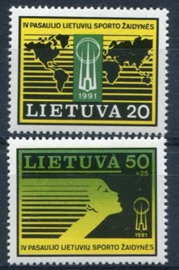 Litouen , michel 482/83 , xx
