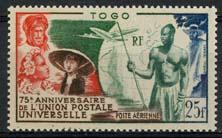 Togo, michel 217, xx